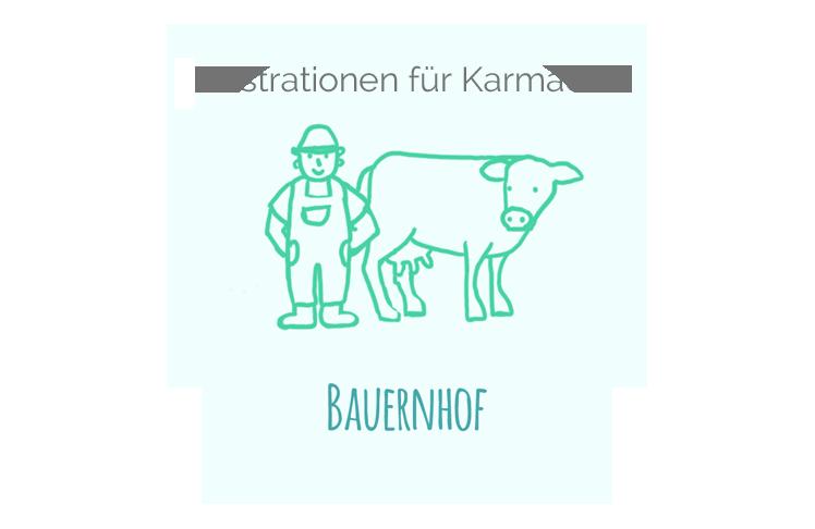 Illustration-Bauernhof