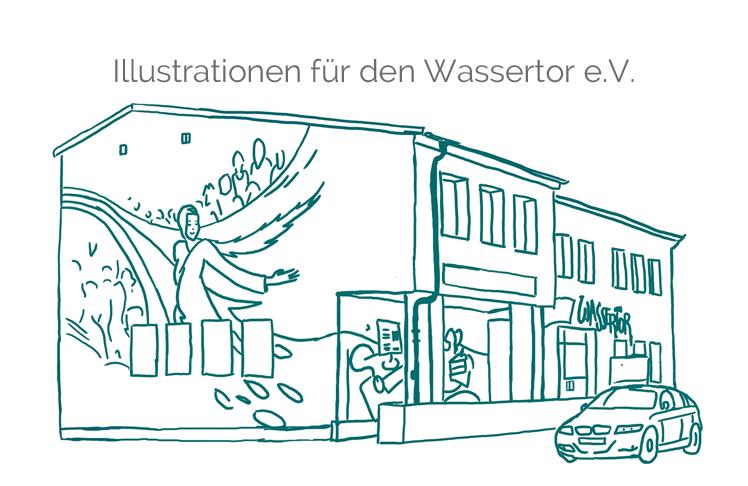 Illustrationen-Haus MGH